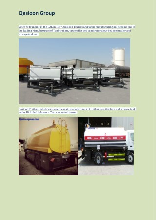 Qasioon Trailers Industries