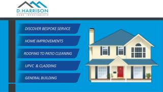 D Harisson Home Improvements | Gutter Cleaning Services