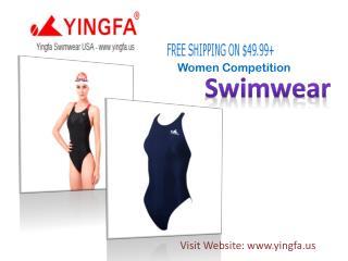 Women's Comfortable Competition Swimwear