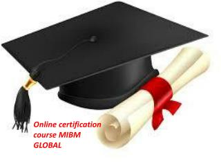 These courses are acceptable in online certification course