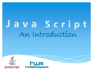 Java Script An Introduction By HWA