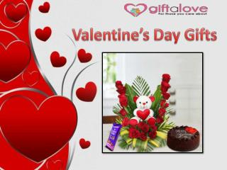 Send Valentines Gifts to India via Giftalove.com