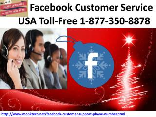 FB issues driving you up the wall, Get Facebook Customer Service 1-877-350-8878