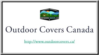 Mobility Scooter Covers | Outdoor Covers Canada