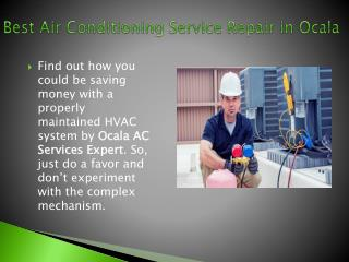 Best Air Conditioning Service Repair in Ocala
