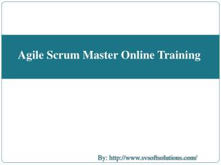 Agile Scrum Online Training