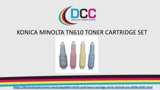 KONICA MINOLTA TN610 TONER CARTRIDGE Set