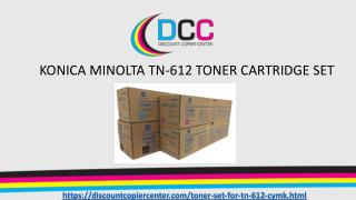 KONICA MINOLTA TN-612 TONER CARTRIDGE Set