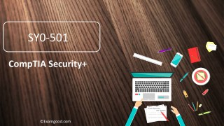 Examgood CompTIA Security  SY0-501 certification exam questions