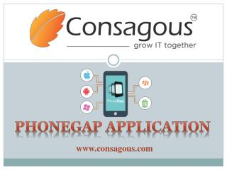 Phonegap Application Design and Development