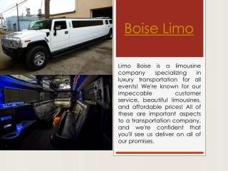 Boise Party Bus