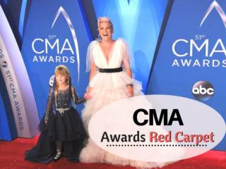 CMA Awards 2017 Red Carpet Fashion