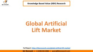 Global Artificial Lift Market Growth