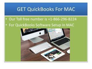 Quickbooks MAC Accounting Software