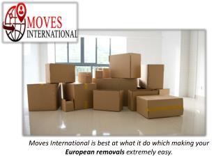 International Removals | European Removals