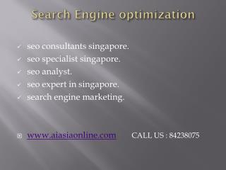 Search Engine Optimization Company Singapore The Best  SEO Agency in Singapore  | SEO Expert Singapore