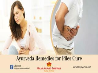 Ayurveda Remedies for Piles Cure