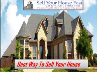 Best Way to Sell House