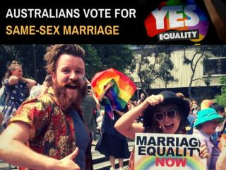 Australia votes 'yes' to same-sex marriage