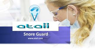 Snore Guard and Oral Appliance Therapy for a Sound Sleep
