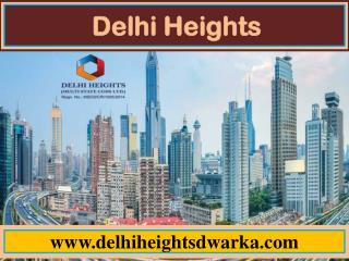 Delhi Heights are an inexpensive project which is being developed under CGHS