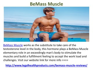 BeMass Muscle Reviews and Where to Buy
