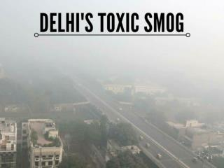 Delhi is blanketed with toxic smog