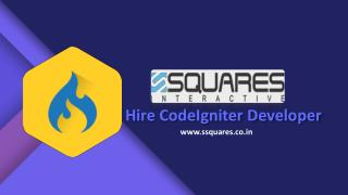 Hire CodeIgniter Developer for a Dynamic and Intuitive Website