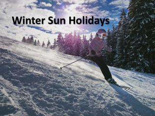 Winter Sun holidays Deals
