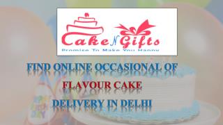 Celebrate any special festival with this delicious cake from CakenGifts.in