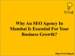 Why An SEO Agency In Mumbai Is Essential For Your Business Growth?