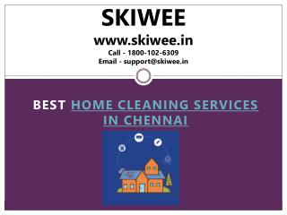 Home cleaning services in Chennai - Skiwee