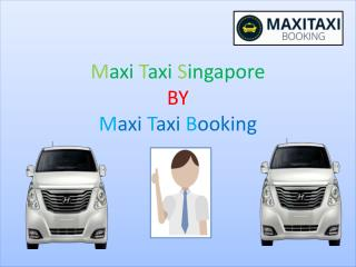 Maxi Taxi Cab Rates Online Singapore