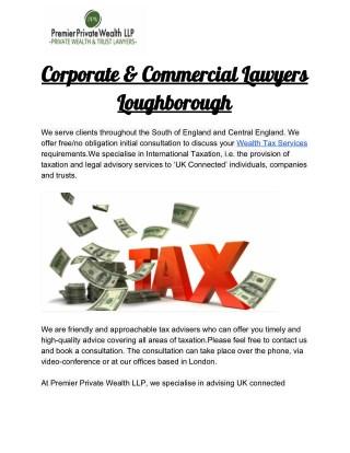 Wealth Tax Services Milton Keynes