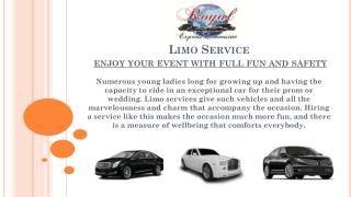 Wedding limo service Washington DC
