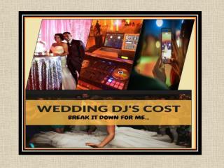 Affordable Wedding DJ Prices in Reno, Nevada