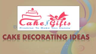 Celebrate any memorable party with CakenGifts.in