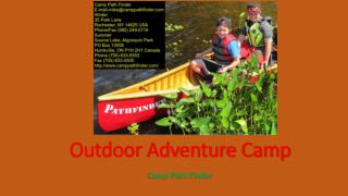 Outdoor Adventure Camp in Canada with Camp Path Finder