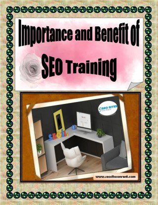 Importance and Benefit of SEO Training