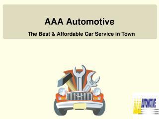 Multi Brand Car Service in Blackburn - AAA Automotive