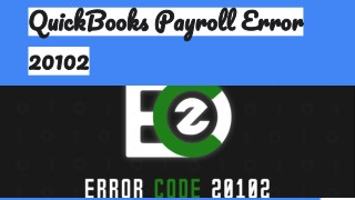 QuickBooks Payroll Error 20102