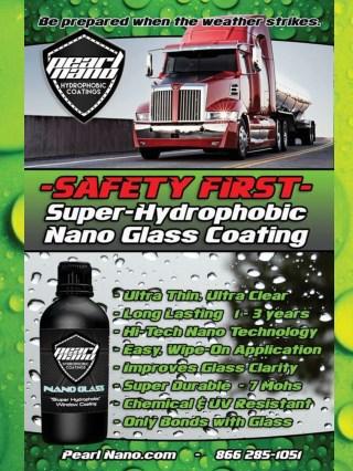 Pearl nano glass coating