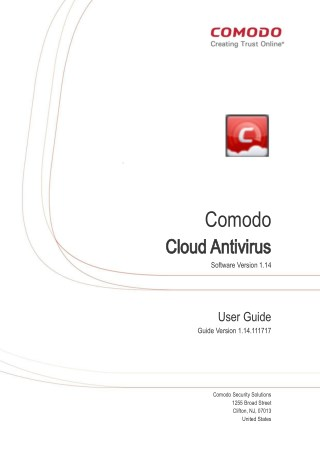 User Guide - Comodo Free Proactive Protection Software
