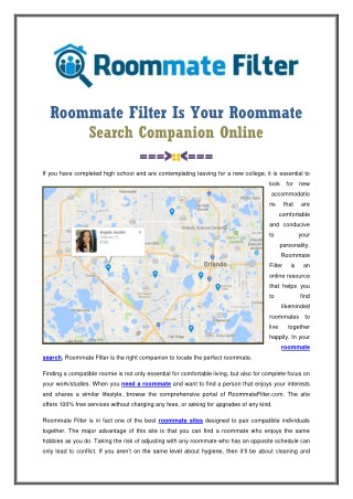 Best Roommate Finder Website