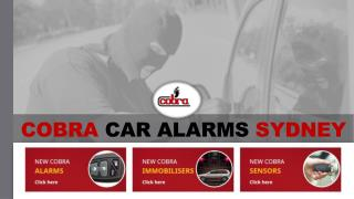 Choose Cobra Security Products for Your Car Safety