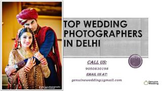 Top Wedding Photographers In Delhi | Genuine Wedding