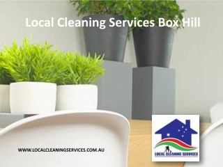 Local Cleaning Services Box Hill