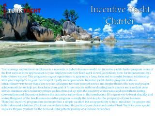 Private Yacht Charter Turkey