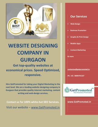 Website Development and Digital Marketing Company In Gurgaon
