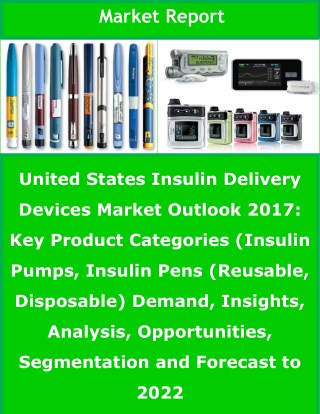 US Insulin Delivery Devices Market to Be Worth US$ 6 Bn by 2022